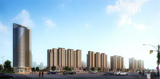 金利国际城:东部新城的未来